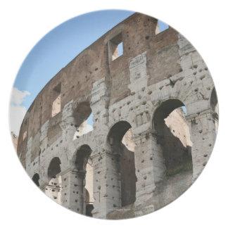 Roman Coliseum Party Plates