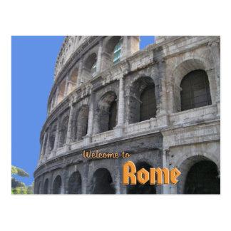 Roman Coliseum Postcard