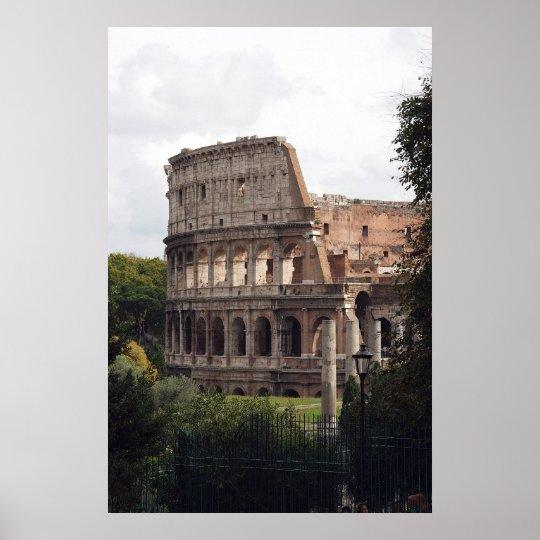 Roman Coliseum Poster