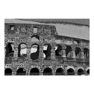 Roman Coliseum, Rome Italy Posters