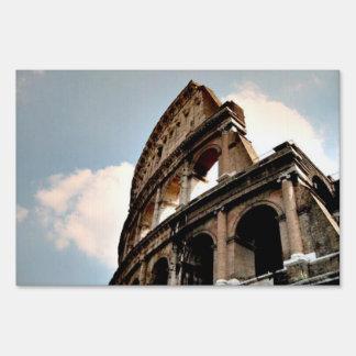 Roman Coliseum Sign