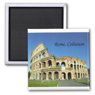 Roman Coliseum (St.K.) 2 Inch Square Magnet