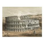 Roman Coliseum Vintage Art Post Card