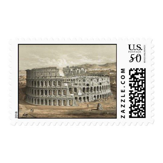 Roman Coliseum Vintage Art Postage