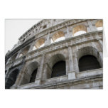 Roman Colosseum blank note card