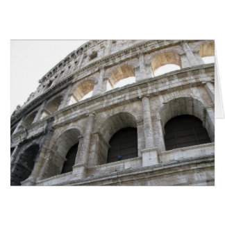 Roman Colosseum blank note card