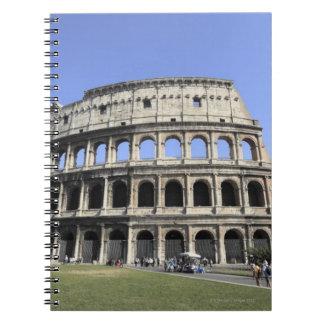 Roman Colosseum Lazio, Italy Spiral Notebook