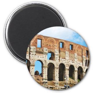 Roman Colosseum 2 Inch Round Magnet