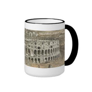 Roman Colosseum Coffee Mugs