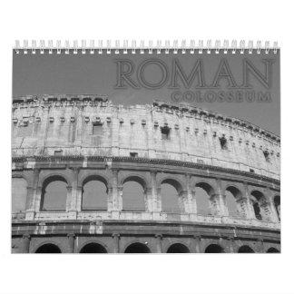 Roman Colosseum Photos Wall Calendar