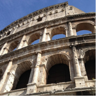 Roman Colosseum Photo Sculpture