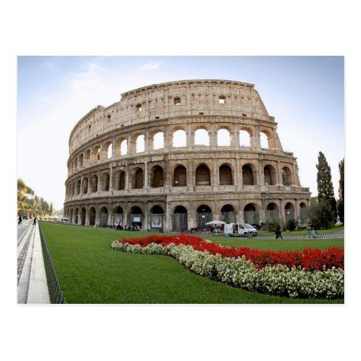 Roman Colosseum Post Card