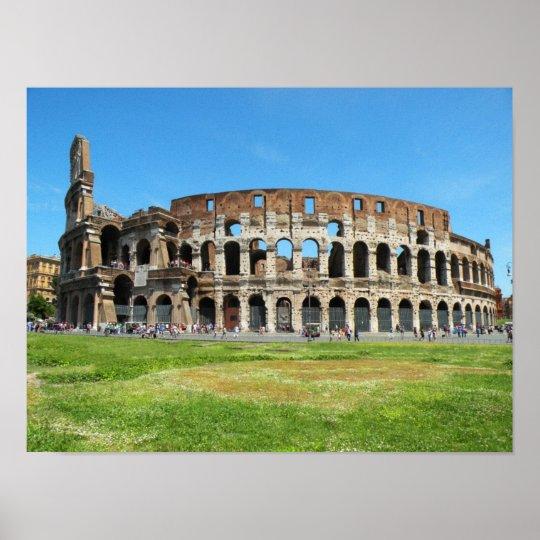 Roman Colosseum Poster