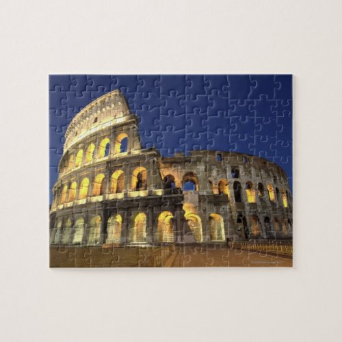Roman Colosseum Rome Italy 2 Jigsaw Puzzle