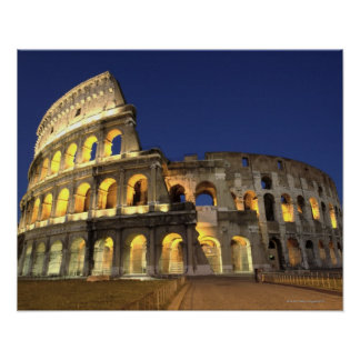 Roman Colosseum, Rome, Italy 2 Poster