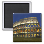Roman Colosseum, Rome, Italy 3 2 Inch Square Magnet
