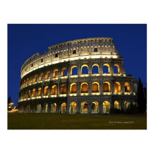 Roman Colosseum Rome Italy 3 Postcard