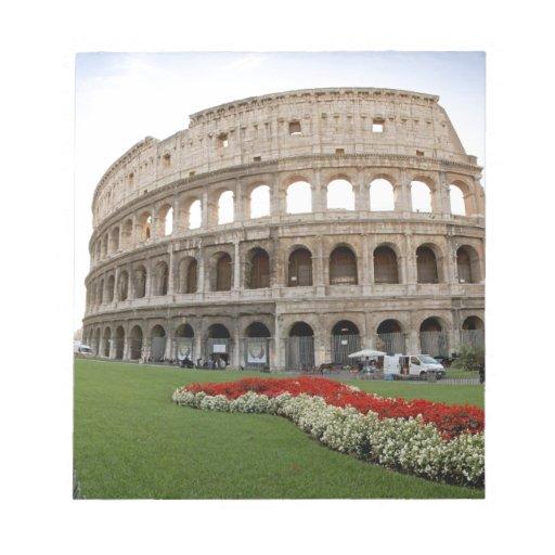 Roman Colosseum Scratch Pads