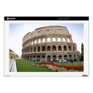 """Roman Colosseum Decals For 17"""" Laptops"""