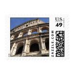 Roman Colosseum Stamp