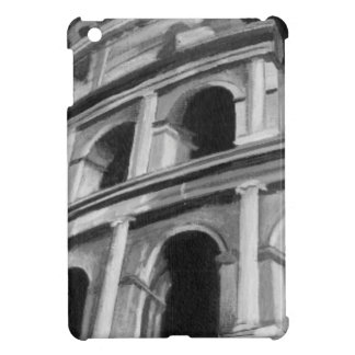 Roman Colosseum with Architectural Drawings iPad Mini Covers