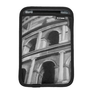 Roman Colosseum with Architectural Drawings Sleeve For iPad Mini