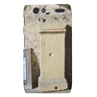 Roman Column at Haddon Hall Derbyshire Droid RAZR Case