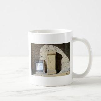 Roman Column at Haddon Hall, Derbyshire Classic White Coffee Mug