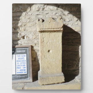 Roman Column at Haddon Hall, Derbyshire Photo Plaques