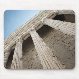 Roman columns 2 mouse pad
