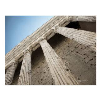 Roman columns 2 postcard