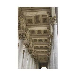 Roman Columns, Italy Canvas Print