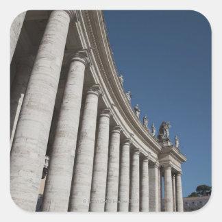 Roman columns stickers