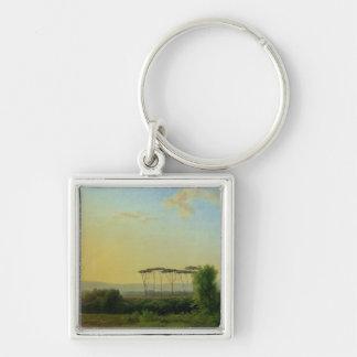 Roman Countryside Keychain