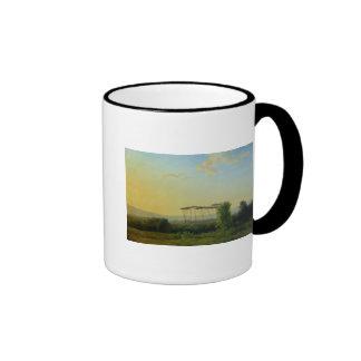 Roman Countryside Ringer Mug
