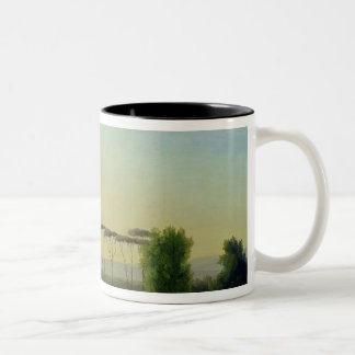 Roman Countryside Two-Tone Coffee Mug