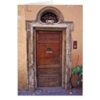 Roman Doorway Note Cards