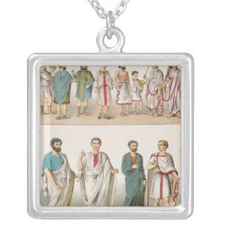 Roman Dress, from 'Trachten der Voelker', 1864 Necklace