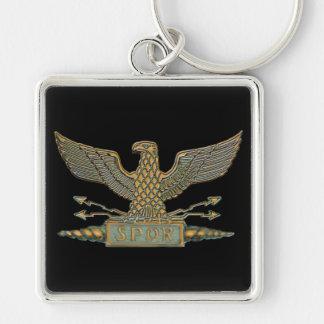 Roman Eagle Copper Key Chain