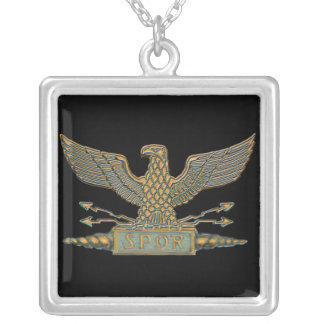 Roman Eagle Copper Necklaces