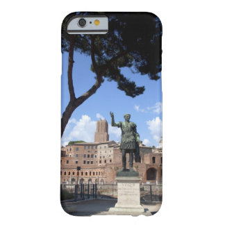 Roman emperor bronze statue at forum barely there iPhone 6 case