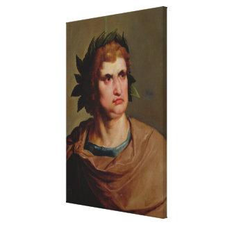 Roman Emperor, possibly Nero  c.1625-30 Canvas Print