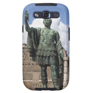 Roman Emperor statue Galaxy S3 Cases