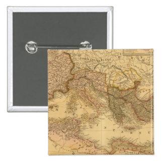 Roman Empire 2 2 Inch Square Button