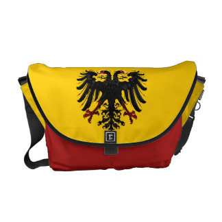 Roman Empire Flag Messenger Bag