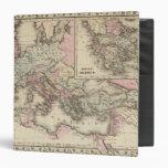 Roman Empire, Greece Vinyl Binders