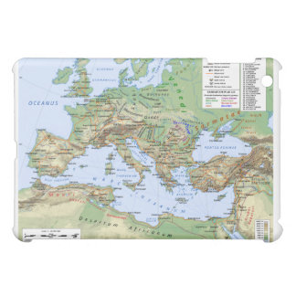 Roman Empire Map During Reign of Emperor Hadrian Case For The iPad Mini