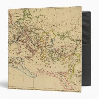 Roman Empire under Constantine and Trajan 3 Ring Binder