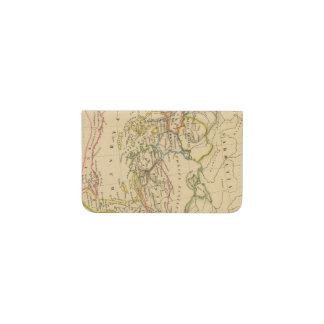 Roman Empire under Constantine and Trajan Business Card Holder