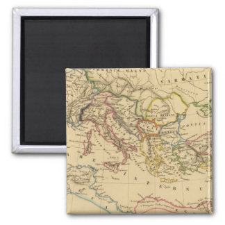 Roman Empire under Constantine and Trajan Magnet